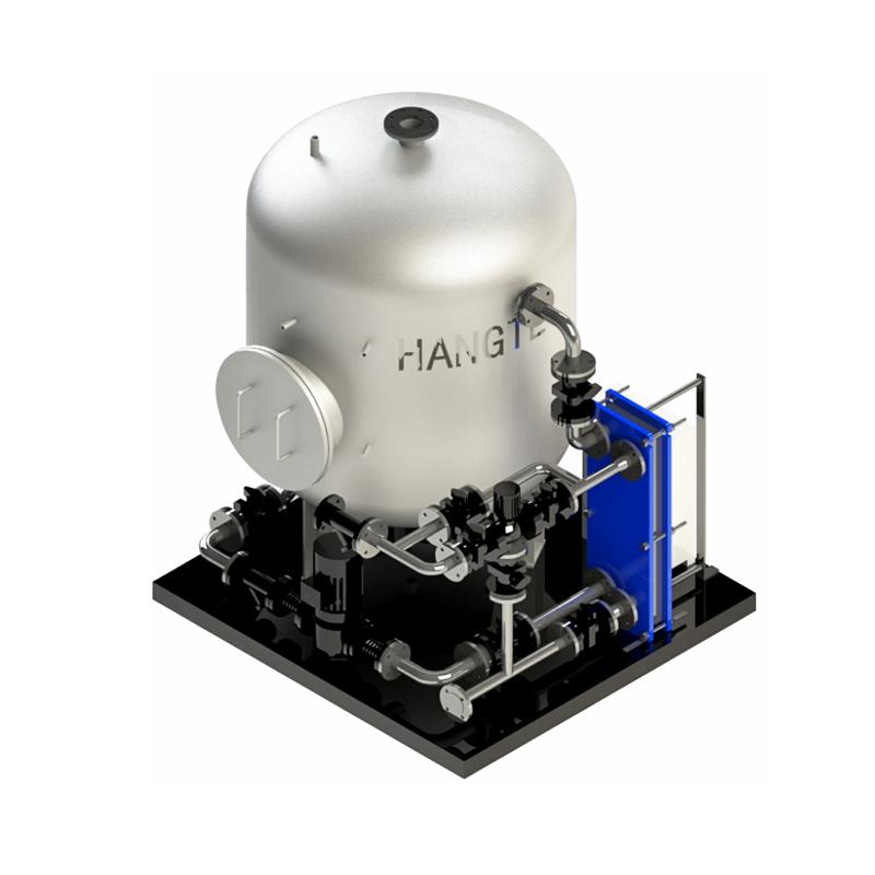 HTRJ-WT系列-热媒水为≤95℃容积式板换热机组(锅炉)